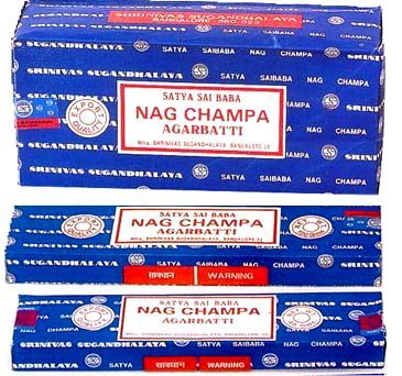 "#NagChampa Restock Here. If you love very high quality, high resin, deep aroma, authentic Indian incense, then look no further. This is it. Sai Baba Nag Champa is absolutely the BEST Indian incense to be found anywhere. It is one of the most popular brands of incense in the world. For millennia, India has burned incense as a devotional practice. Temples have perfected the art of hand-rolling incense. Nag Champa, a masala incense, carries this tradition into the 20th century. Nag Champa incense is India""s most popular high grade meditation incense. It is known worldwide and made from costly, highly fragrant rare gums, resins, powders and pure Mysore Sandalwood Oil.  Nag Champa is hand-rolled and each stick burns for about 45 minutes.  The natural ingredients are blended to perfection to create a soothing aroma. This aromatic incense with its sweet, yet earthy fragrance will enhance any mood or environment. It has been appreciated for decades as an exceptional quality incense for deep calming meditation and for creating sacred spaces. Powerfully fragrant and long lasting, the scent will linger in your room for hours. 40 Gram Package — Approximately 100 sticks Get it here Click Pic"