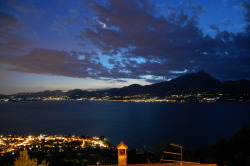 Lake Garda by night