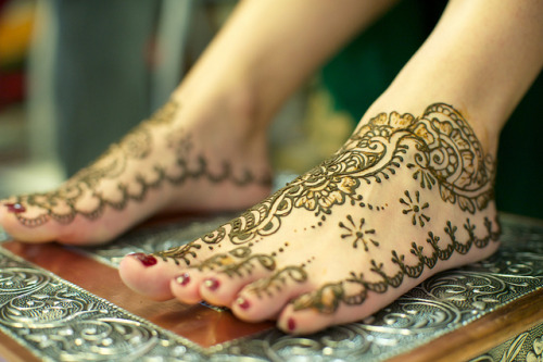 mannyteebang:  Mehndi Night: Feet. by theurbannexus on Flickr.