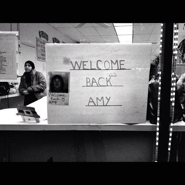 Welcome Back Amy (Taken with instagram)