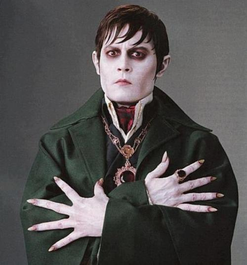 New photo of Johnny Depp as Barnabas Collins in Tim Burton's #DarkShadows