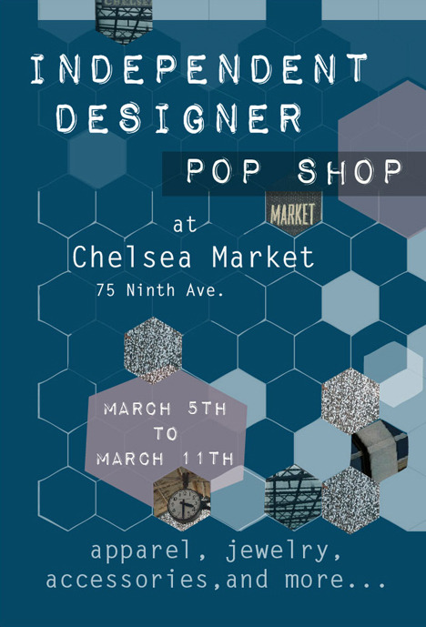 ID Pop Shop's Logo for our event March 5-11, 2012 at Chelsea Market