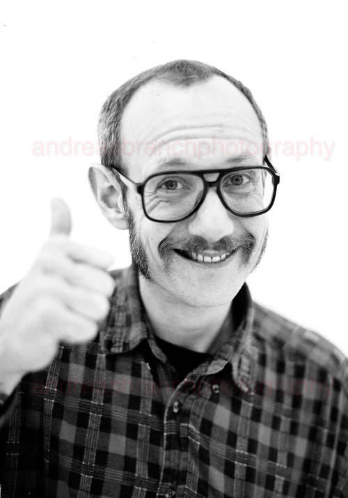 portrait of terry richardson by me.   —abphotography