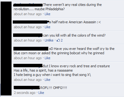 kotorirod:  What I deal with when the subject of the new Assassin appears… Oh god… XD  CRYING
