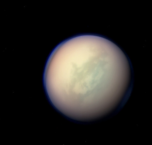 ikenbot:  Titan in color Copyright: NASA/JPL/SSI/J. Major