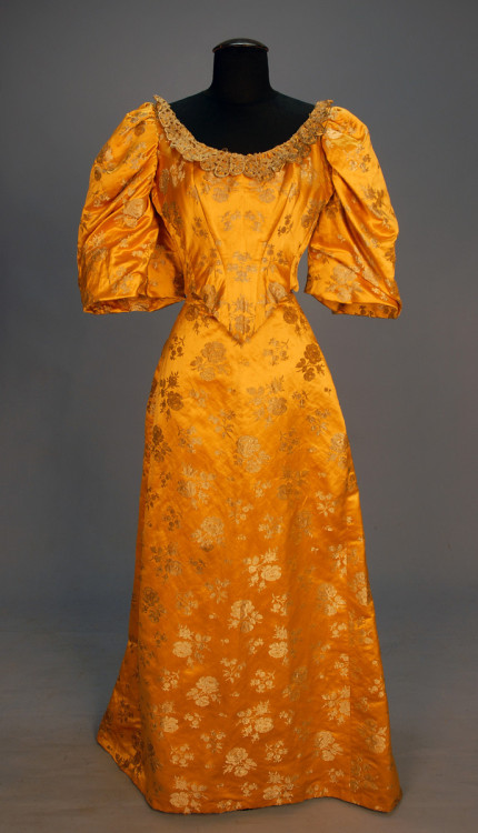 Ballgown, 1890's New York