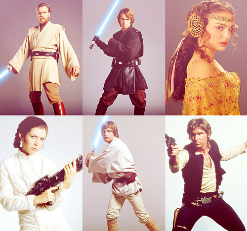Star Wars Trios — Prequel and Original Trilogies
