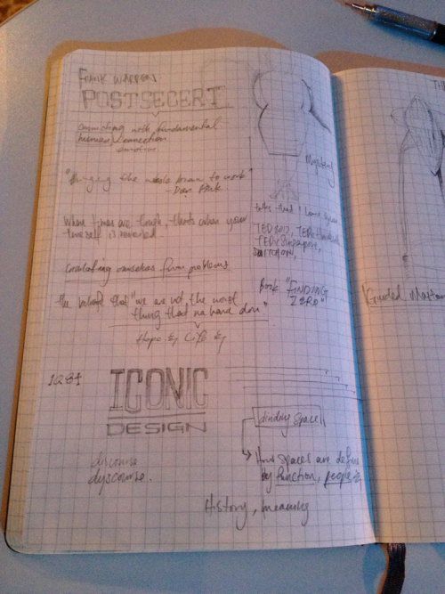 Notes by TEDFellow Tino Chow.