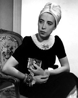 Leave it to the legendary designer Elsa Schiaparelli to style a scarf into the perfect turban.