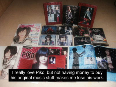 "pikoconfessions:  Credit to atomic-sky for the picture.   and add to that…  ""and I feel miserable"""
