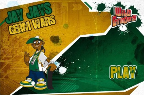 "There is a new Wild Grinders online game at Nicktoons.com, ""Jay Jays Germ Wars"" Try to beat my score of 54700. http://t.co/CtiPs6Ya"