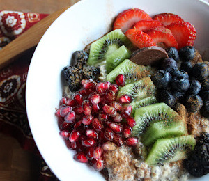 findvegan:  Super Foods Oatmeal