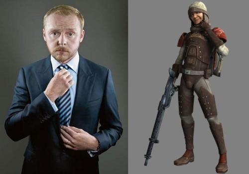 Simon Pegg Joins 'Star Wars: The Clone Wars' Voicing Bounty Hunter, Dengar