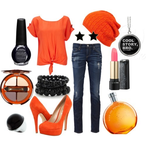 Kenny McCormick by lil-mexico-009 featuring button fly jeans Wallis tie top, £20AG Adriano Goldschmied button fly jeans, £142ALDO slip on shoes, $65Wallis dome ring, $3.50Worthington stretch jewelry, $12Star earrings, 7.95 AUDNecklaceKnit beanie hat, $32L'Absolu Rouge Nu, $30Eye Palette in Secret Liaisons, $25Hermes Elixir des Merveilles - Eau de parfum natural spray No Color…, $149Nicole By Opi: No Limits Ni 261 Nail Polish, .5 Fl Oz: Makeup