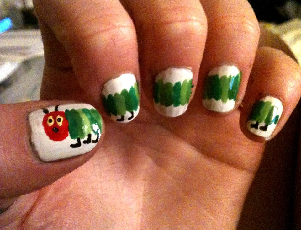 day 24: inspired by a book - the very hungry caterpillar!