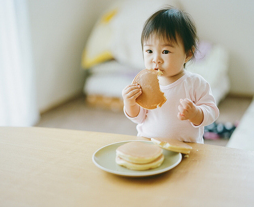 I heard you like cute asian babies… XD she is adorable