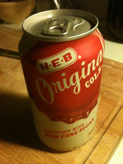 Time to spill the beans: HEB's cane sugar cola is as good if not better than Mexican coke. #dangerous