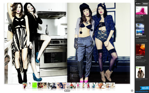 Check out the Luna Necklace by Toveren featured in W25 Magazine this month in a shoot styled by the amazing Nikki Stevens!