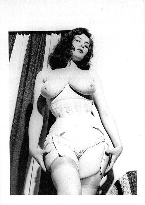 wickedknickers:  Corseted, 1950s.