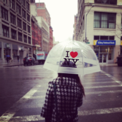 jackieskyekim:  Rainy Days in NYC