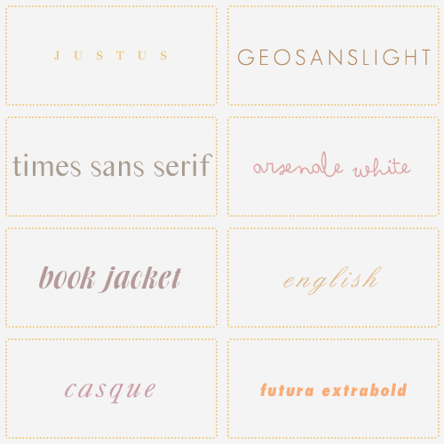 planets-bend-between-us:   I've been getting quite a few font questions lately, so here's a pack featuring my most recently used fonts. Enjoy!  rs | mf
