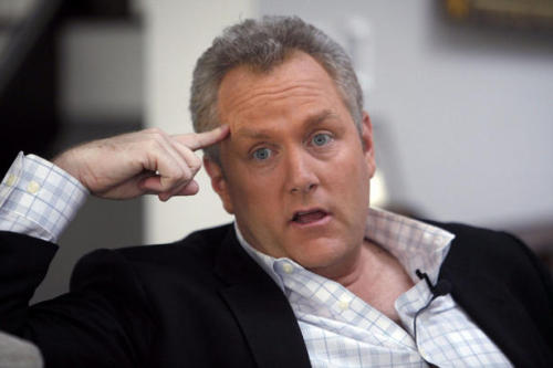 """Moron Of The Week"" Inductee Andrew Breitbart Dies At 43   Before you even start ranting against me for writing such a ""inappropriate"" title for this post, you need to be familiar with Breitbart's work, and although I'd never wished for him to die nor I'm happy for his passing. However, as Christopher Hitchens would have said: ""Give them the credit and fame they earned when they were amongst us"" (Hitchens might not have said those exact words, but he indeed practiced it with everyone he criticised, i.e. Jerry Falwell). And besides, I gave the late Senator James Forrester the same honours. NBC Los Angeles reports:   Breitbart was walking near his home in Brentwood, Calif just after midnight Thursday when he collapsed according to his father-in-law Orson Bean. Someone saw Breitbart fall and called 911. Emergency crews tried to revive him and rushed him to the emergency room at UCLA Medical Center, Bean said. According to Joe Jervis, Andrew's father-in-law, Bean, was blacklisted during the McCarthy era for attending Communist Party meetings and was also a vocal proponent for Proposition 8. Even his last Tweet shows his combative online persona.   Now, I love how these history revisionists just like to think we won't remember people's actual work and fame. Andrew wasn't the most loved and supported in the GOP, much less in the left. He wasn't a role model nor a hero!"