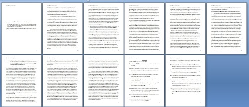 DIABETES RESEARCH PAPER DONE. It is 8 pages at only ten point font.  If it was twelve point, it would be 13 pages and exceed the limit.