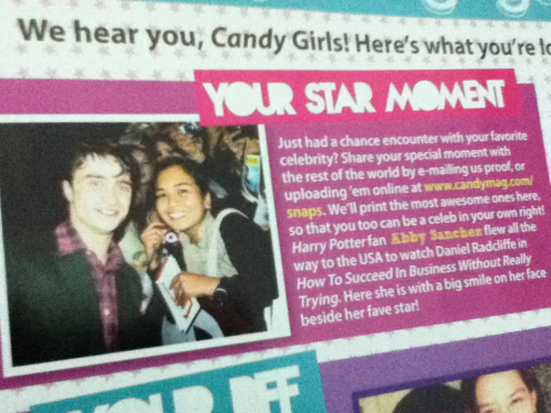 Candy Mag March 2012 issue. Hurhurhur! :>