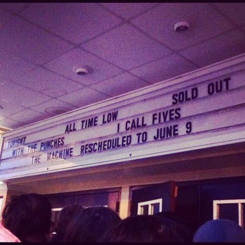 Day 1 - up. #marchphotoaday #alltimelow  (Taken with instagram)