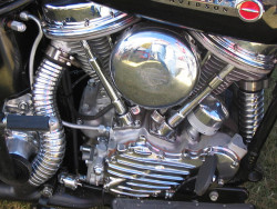 Harley Davidson engine by Vintagebikefan on Flickr.