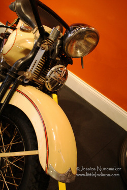 Wabash County Historical Museum Vintage Harley by Jessica Nunemaker on Flickr.