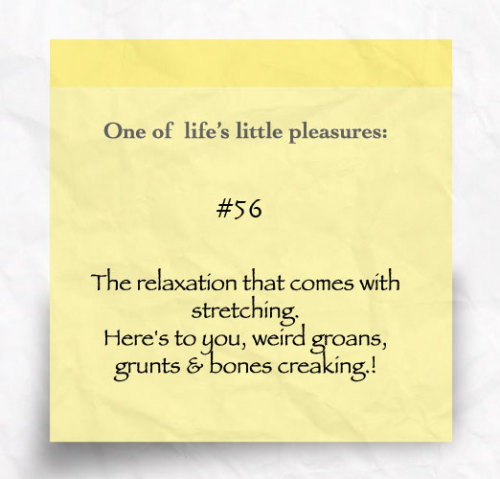 One of Life's little pleasures #56