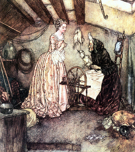 Edmund Dulac Sleeping Beauty