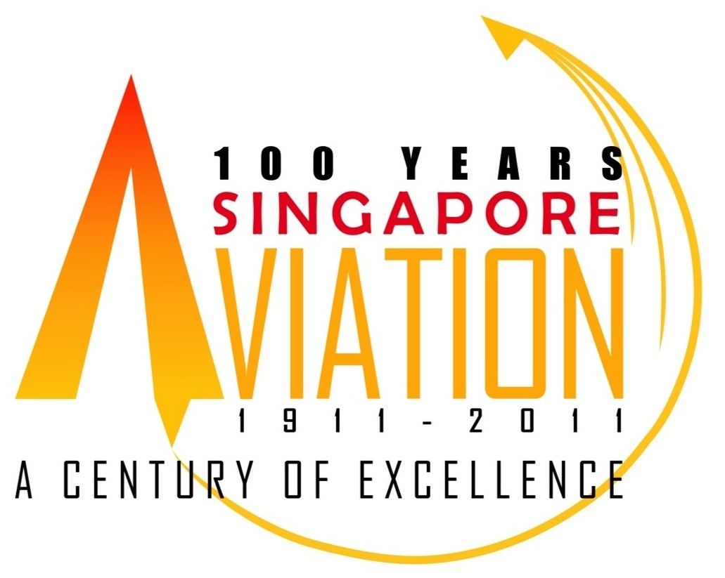 Logo design for 100 years of Singapore Aviation (2010)