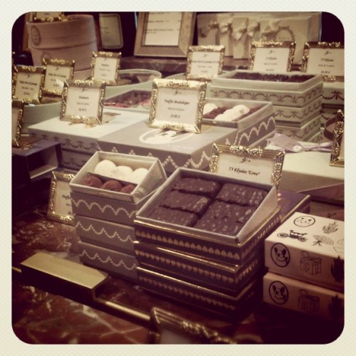 Laduree chocolate. #food #sweets #europe #paris #macarons #pastries #laduree #chocolate (Taken with instagram)