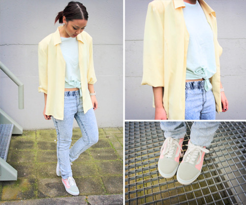 lookbookdotnu:  Soft colors  (by May B.)
