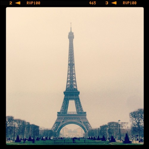 Ni**as in Paris #eiffeltower #paris (Taken with Instagram at Tour Eiffel — Eiffel Tower)