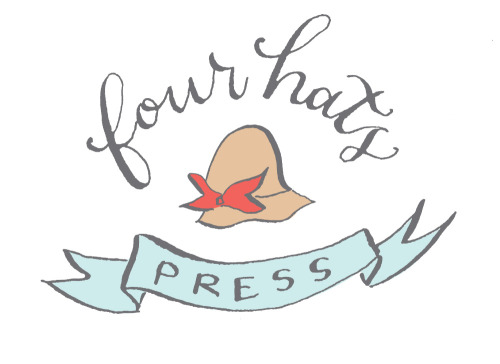 Check out my new logo, designed by the lovely and talented Holly Hollon! A very special tip of the ole hat to you, ma'am.