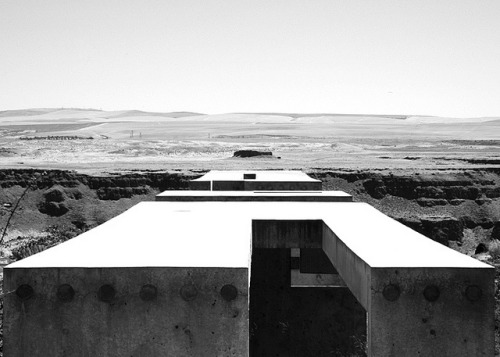 Maryhill, Oregon on Flickr. Marry Hill Overlook / Allied Works Architecture