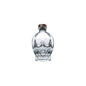 Drink: Crystal Head Pure Spirit Vodka, by Dan AckroydSynopsis: Dan Ackroyd has produced a vodka; it comes in a 'crystal' bottle that looks like a head, and currently markets for $48/1.5l on Amazon.