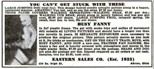 BUSY FANNY will take you to the GRAVY TRAIN!  SEE FULL POST (WITH FILM) HERE