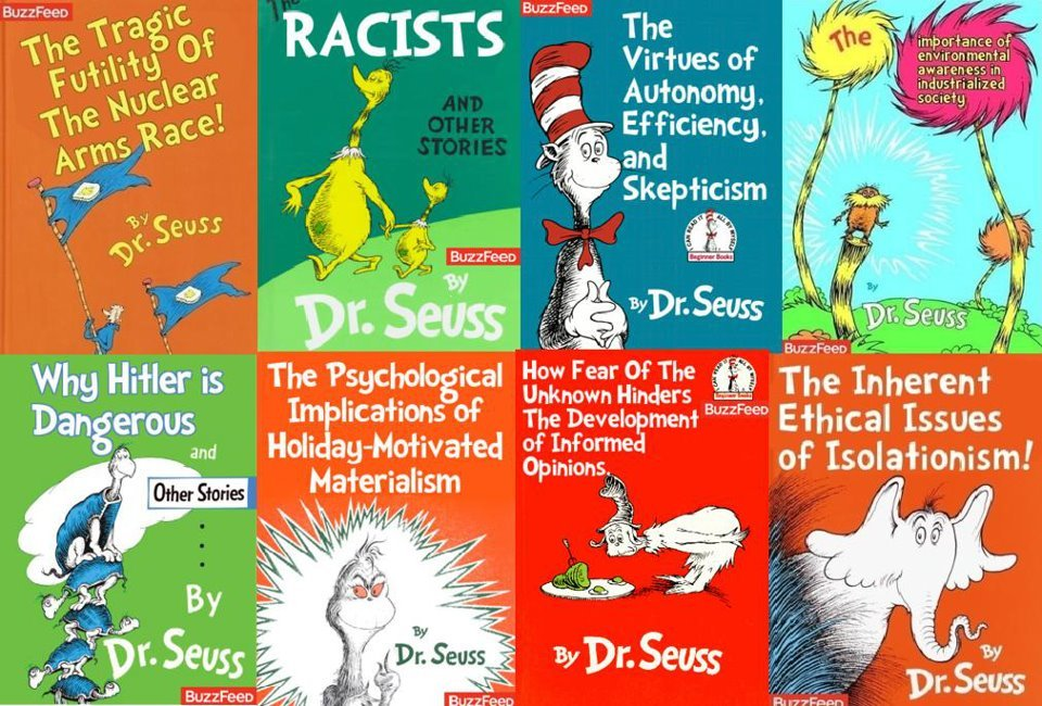 djbenhameen:  Happy Bornday Dr. Suess.  YOU NEED TO LOOK AT THIS… and see it.. with your face
