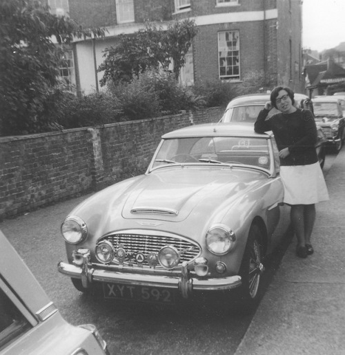 Genevieve with Austin  Healey on Flickr.