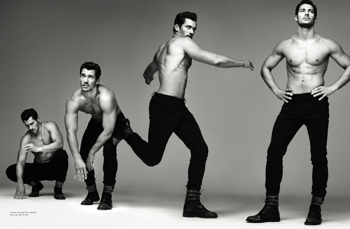 David Gandy by Mariano Vivanco