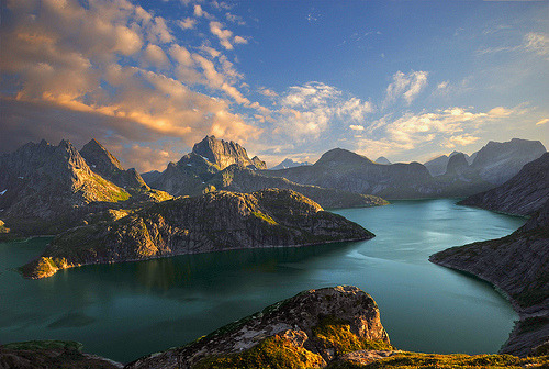 Lake Solbjornvannet (by steinliland)
