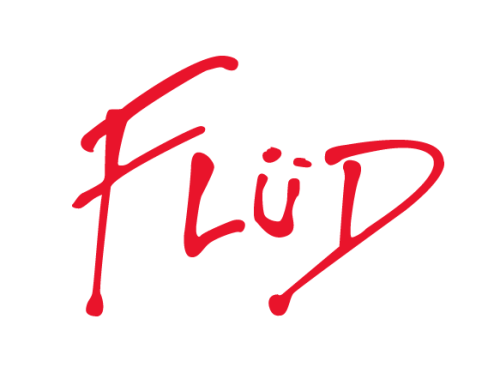 New Flud Logo I designed for their apparel division. Peep the Pink Floyd inspiration. Flud - Timeless Timepieces.