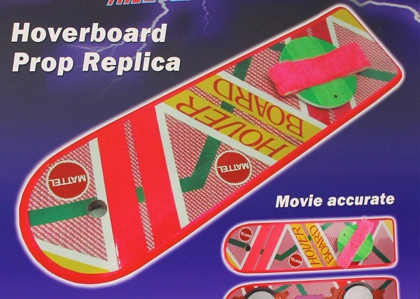 A Little Bit On The Hoverboard Side: Those Back To The Future hoverboard replicas we told you about are officially up for pre-order! They're $120 each and even come with a tiny version for 6-inch action figures. Get. (via Nerd Approved)