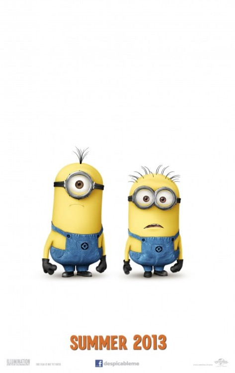 I love Despicable Me, but seriously, what's the point of a sequel? Just because the first film was a critical and commercial success, it doesn't always mean that there needs to be a sequel. Ugh. It's annoying. But I'm sure the sequel will hopefully be good.