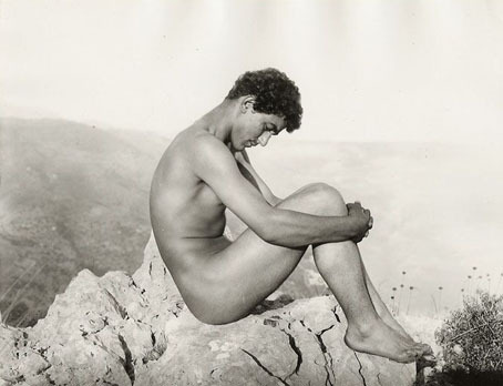igorsoldat: Man on a Rock by Wilhelm Von Gloeden