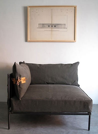 ellekrauselyons:  I am enamored of grey furniture